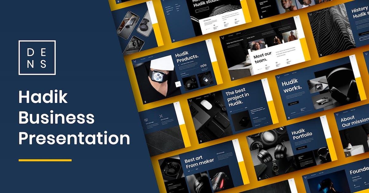 Download Hadik – Business PowerPoint Template by DensCreativeStudio