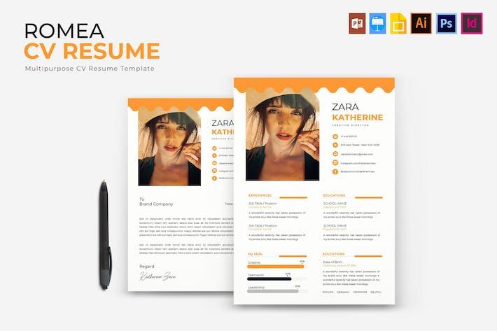 Thumbnail for Romea | CV & Resume