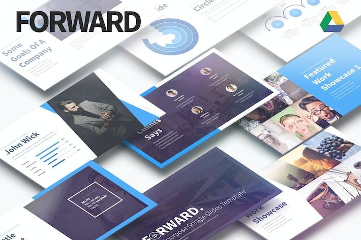 Cover Image For Forward - Multipurpose Google Slides Presentation