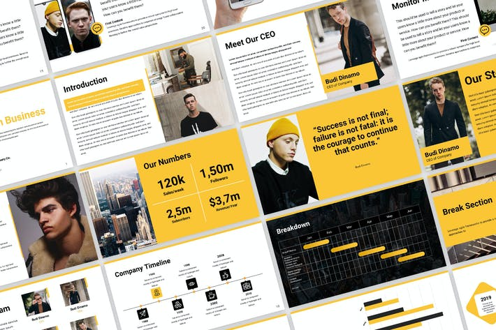 Thumbnail for Business Proposal Template