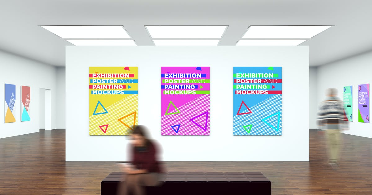 Download Exhibition Poster and Painting Mock-Ups V1 by traint