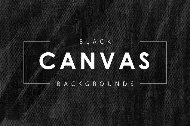 Black Canvas Backgrounds