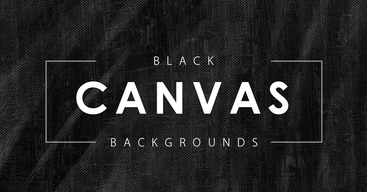 Download Black Canvas Backgrounds by M-e-f