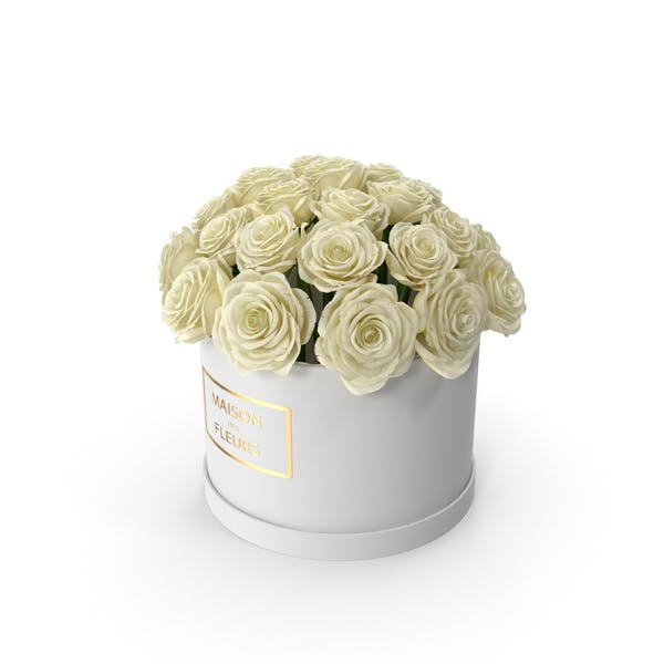 Cover Image for White Roses Box