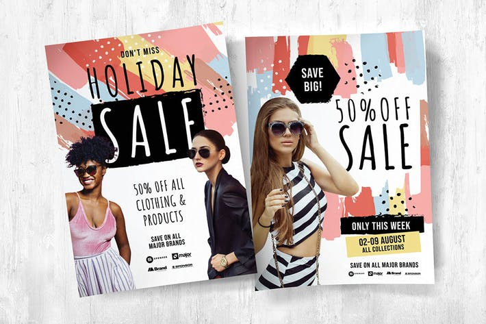 Grand Sale Flyer / Poster / Brochure Template Pack