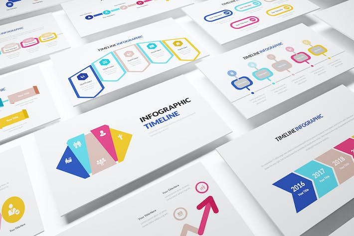 Thumbnail for Infographic Timeline Powerpoint Template