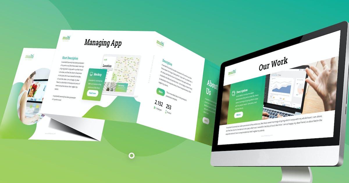 Download Multi - Multipurpose Google Slides Template by SlideFactory