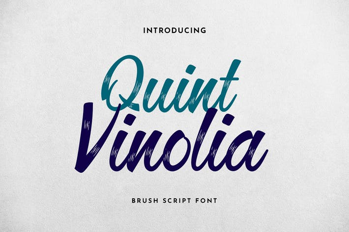 Quint Vinolia Calligraphy Font
