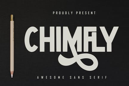 Chimfly - Impresionante Sans Con serifa