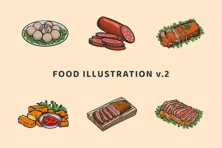Food Illustration V.2