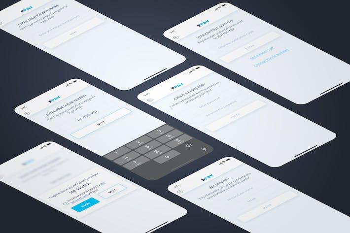 Thumbnail for Register - Wallet Mobile UI - FP