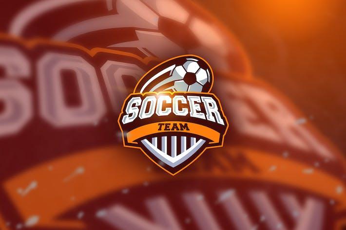 Thumbnail for Soccerball - Mascot & Esport Logo