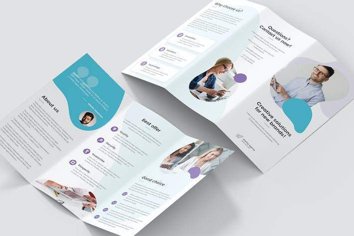 Thumbnail for Brochure – StartUp Agency Tri-Fold