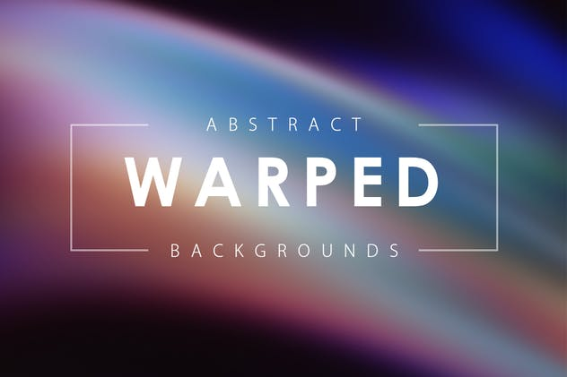 Warped Backgrounds