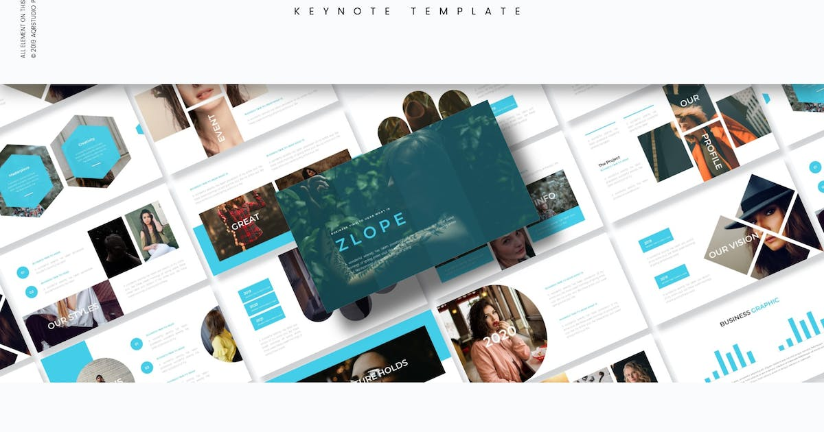 Download Zlope - Keynote Template by aqrstudio