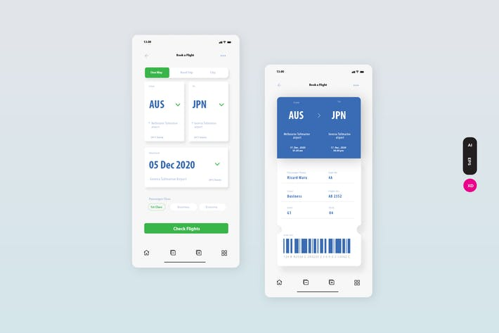 Thumbnail for Online Ticketing Interface