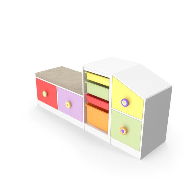 Toy Cabinet Drawer Shelf