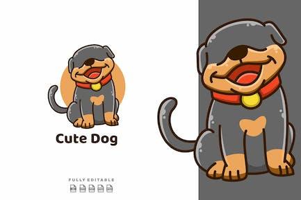Cute Dog Funny Mascot