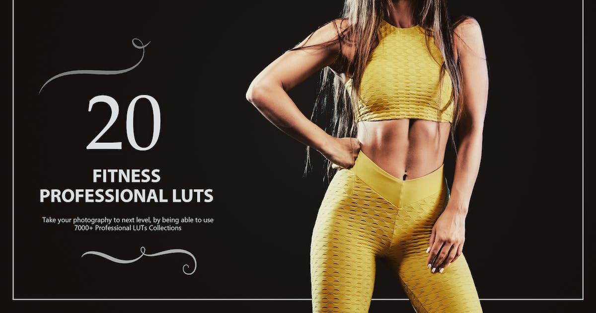 Download 20 Fitness LUTs Pack by Eldamar_Studio