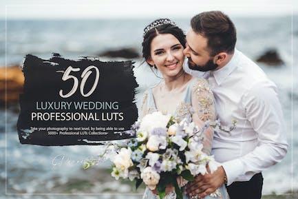 50 Luxury Wedding LUTs Pack
