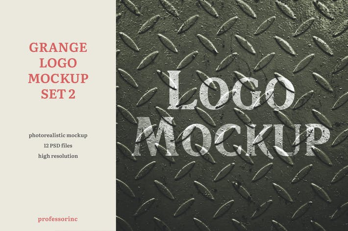 Thumbnail for Grange Logo Mockup — Set 2