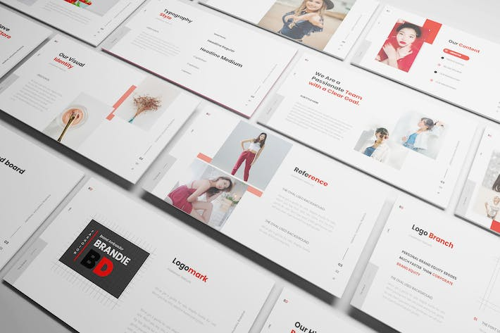 Thumbnail for Brandie Branding Powerpoint Template