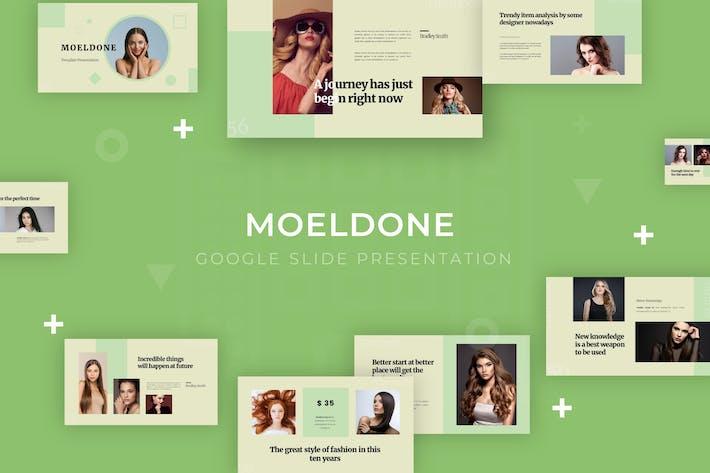 Thumbnail for Moeldone - Google Slide Template