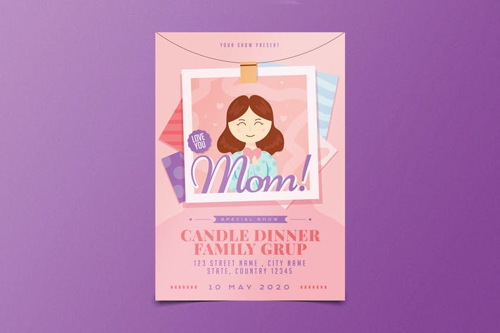 Thumbnail for Mother's Day Flyer