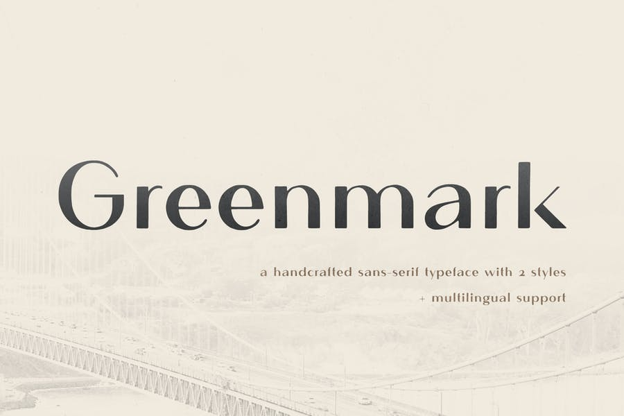 Greenmark - Handcrafted Sans Serif