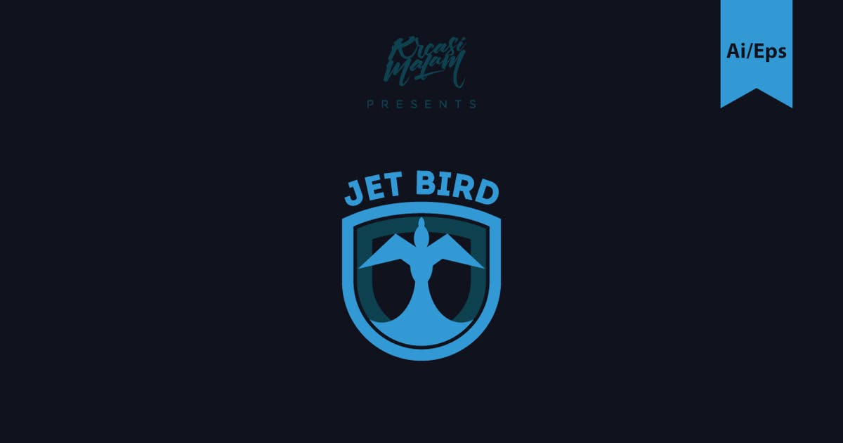 Download Jet Bird Logo Template by Ijajil
