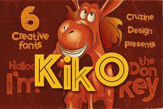 Kiko - Funny Display Font