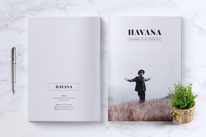 Thumbnail for HAVANA Minimal Magazine Fashion