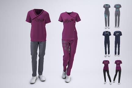 Spa Uniform Mock-Up