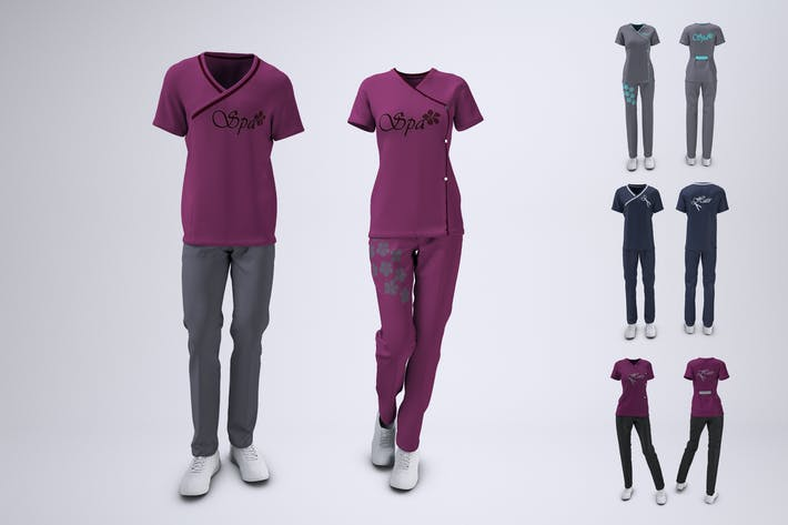 Thumbnail for Spa Uniform Mock-Up
