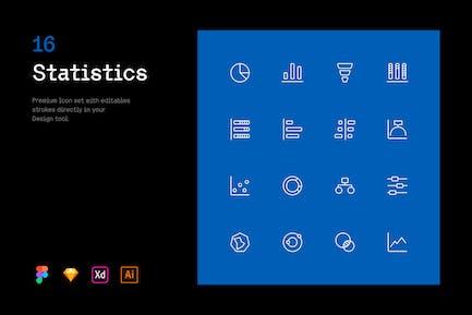 Statistics - Iconuioo
