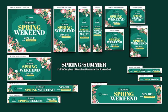 Thumbnail for Spring Banners Ad