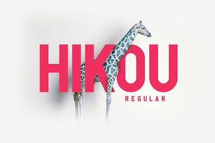 Hikou Regular
