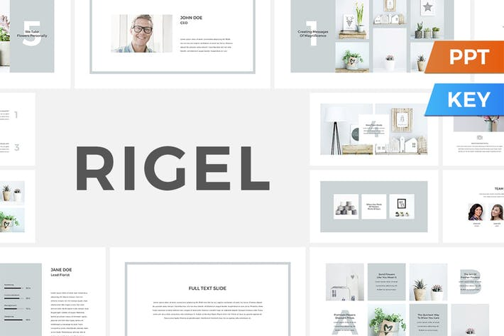 Thumbnail for Rigel PowerPoint / Keynote Presentation Template
