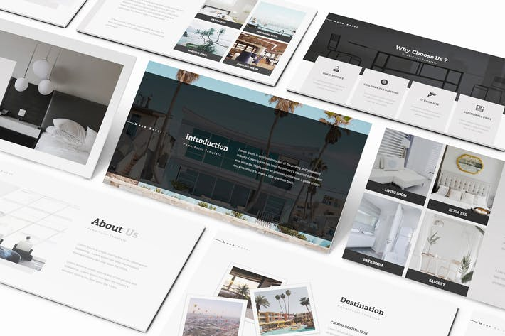 Thumbnail for Moxa Hotel Keynote Presentation Template