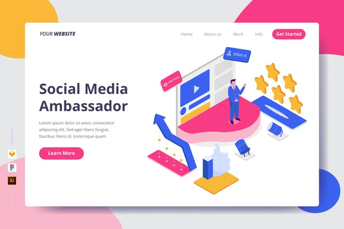 Social Media Ambassador - Zielseite