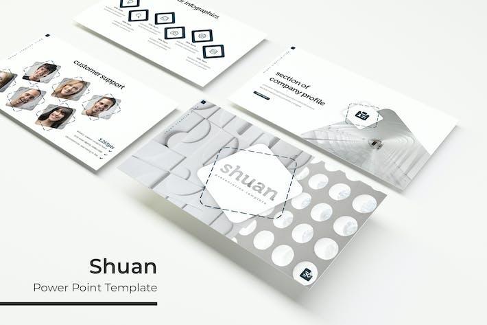 Thumbnail for Shuan - Powerpoint-Vorlage