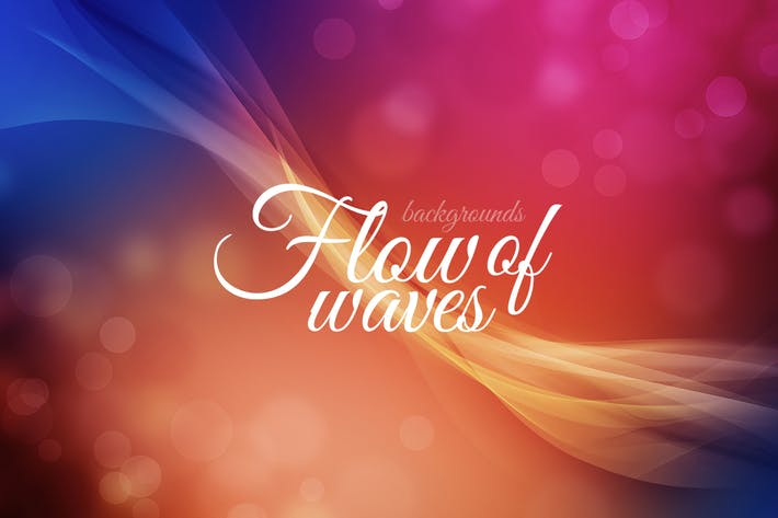 Thumbnail for Flow of Waves Backgrounds