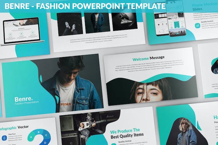 Thumbnail for Benre - Fashion Powerpoint Template