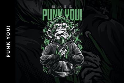 Punk You! T-Shirt Design