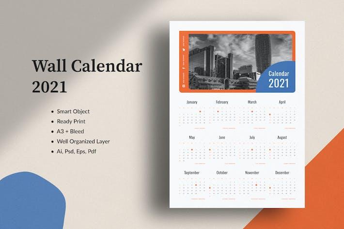 Thumbnail for Wall Calendar 2021
