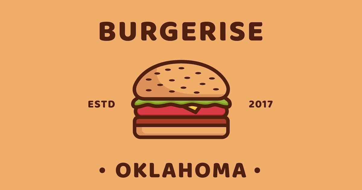 Burger - Logo Template by deemakdaksinas