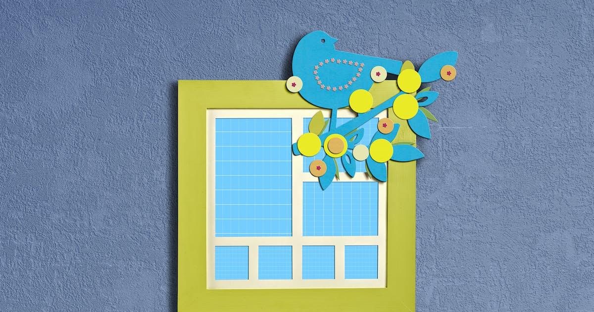 Download Frame-Bird-boy-mockup by pbombaert