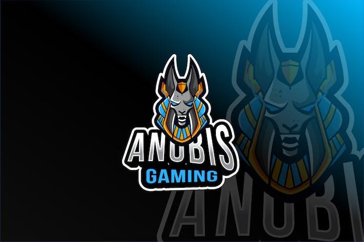 Thumbnail for Anubis Gaming Esport Logovorlage