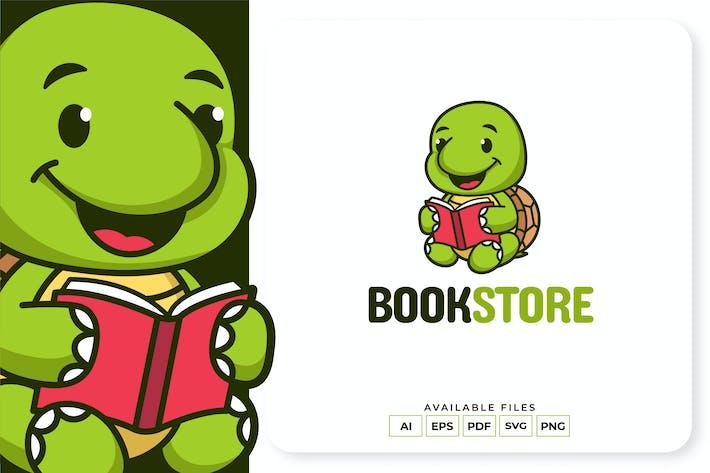 Thumbnail for Turtle Bookstore Logo Design
