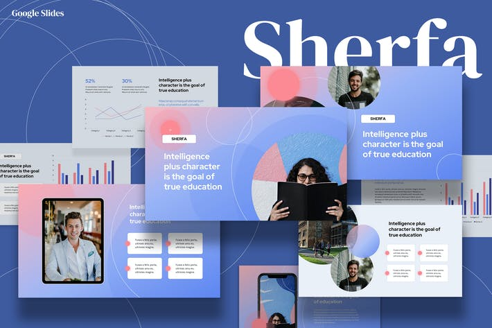 Thumbnail for Sherfa - Education Google Slides Template